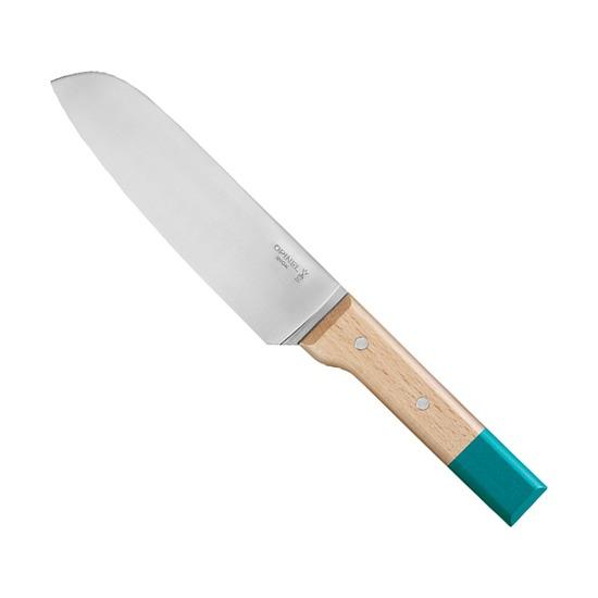 Нож кухонный Opinel №119 Parallele, серо-голубой