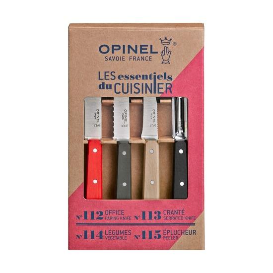 Набор из 4 кухонных ножей Opinel Les Essentiels, loft