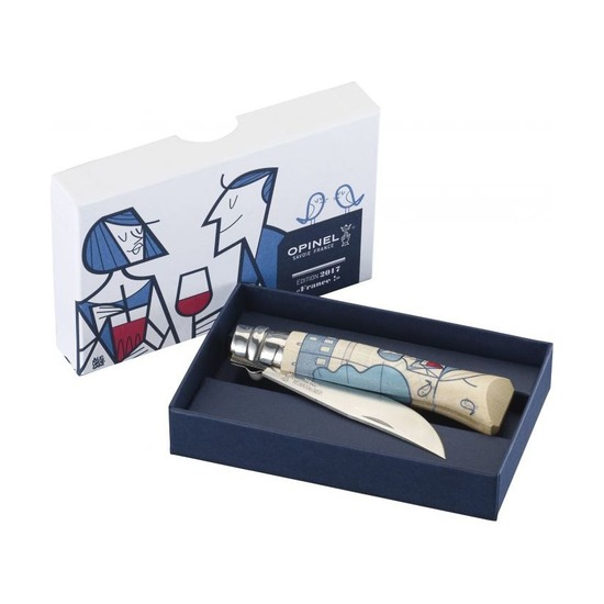 Нож Opinel №8, Edition France by Ale Giorgini